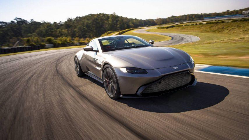 Aston Martin Vantage manual: lo veremos en 2019