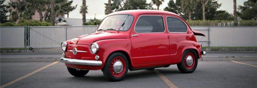 """Conoced al Fiat 600 """"Maziat"""", el del cuore rotativo"""