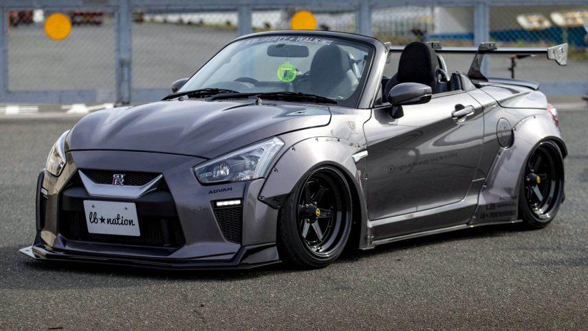 Daihatsu Copen GT-K, o como transformar un kei car en un aparente matagigantes