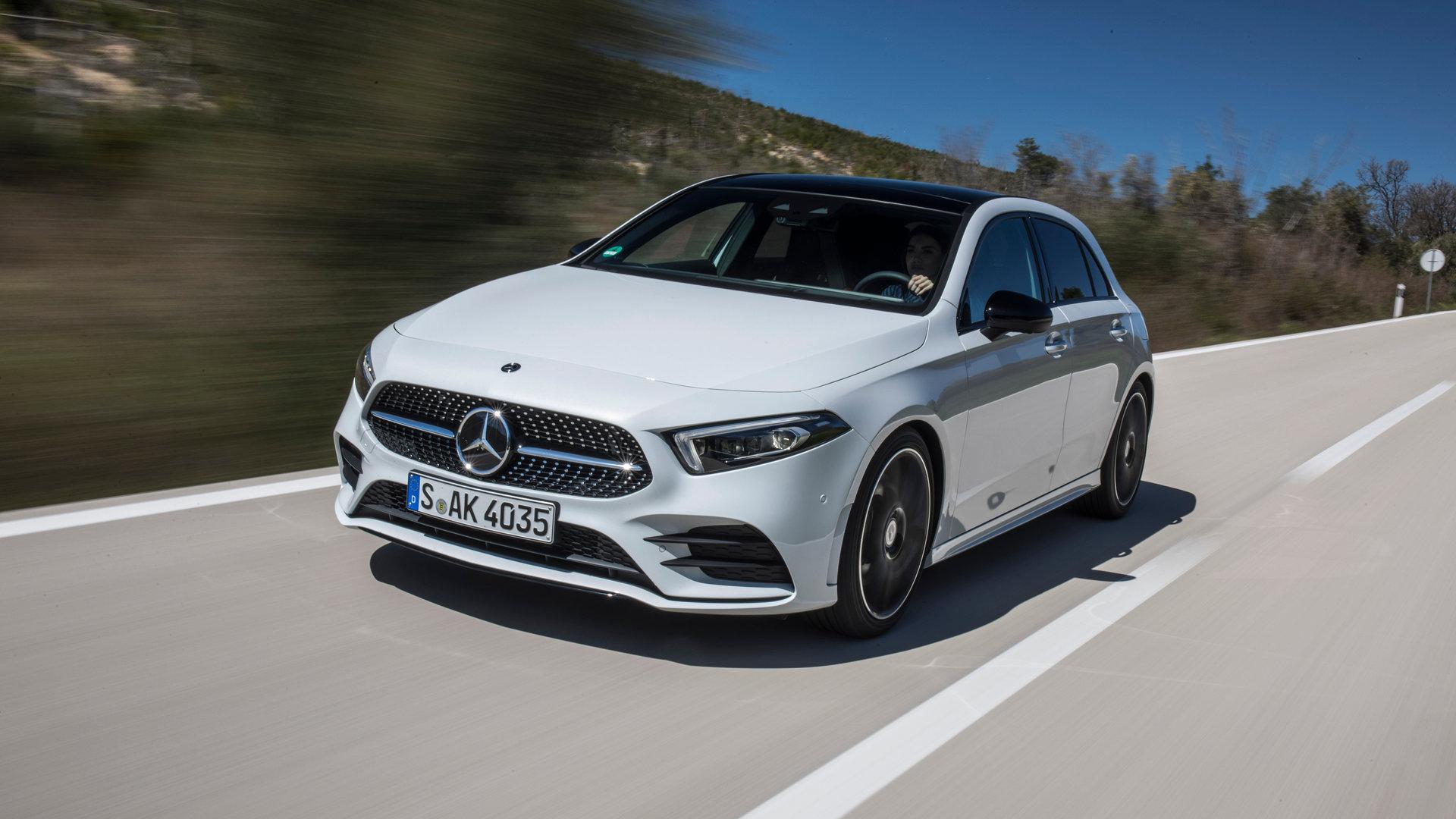 Los Mercedes-Benz A 180 y A 250 4MATIC ya se pueden encargar