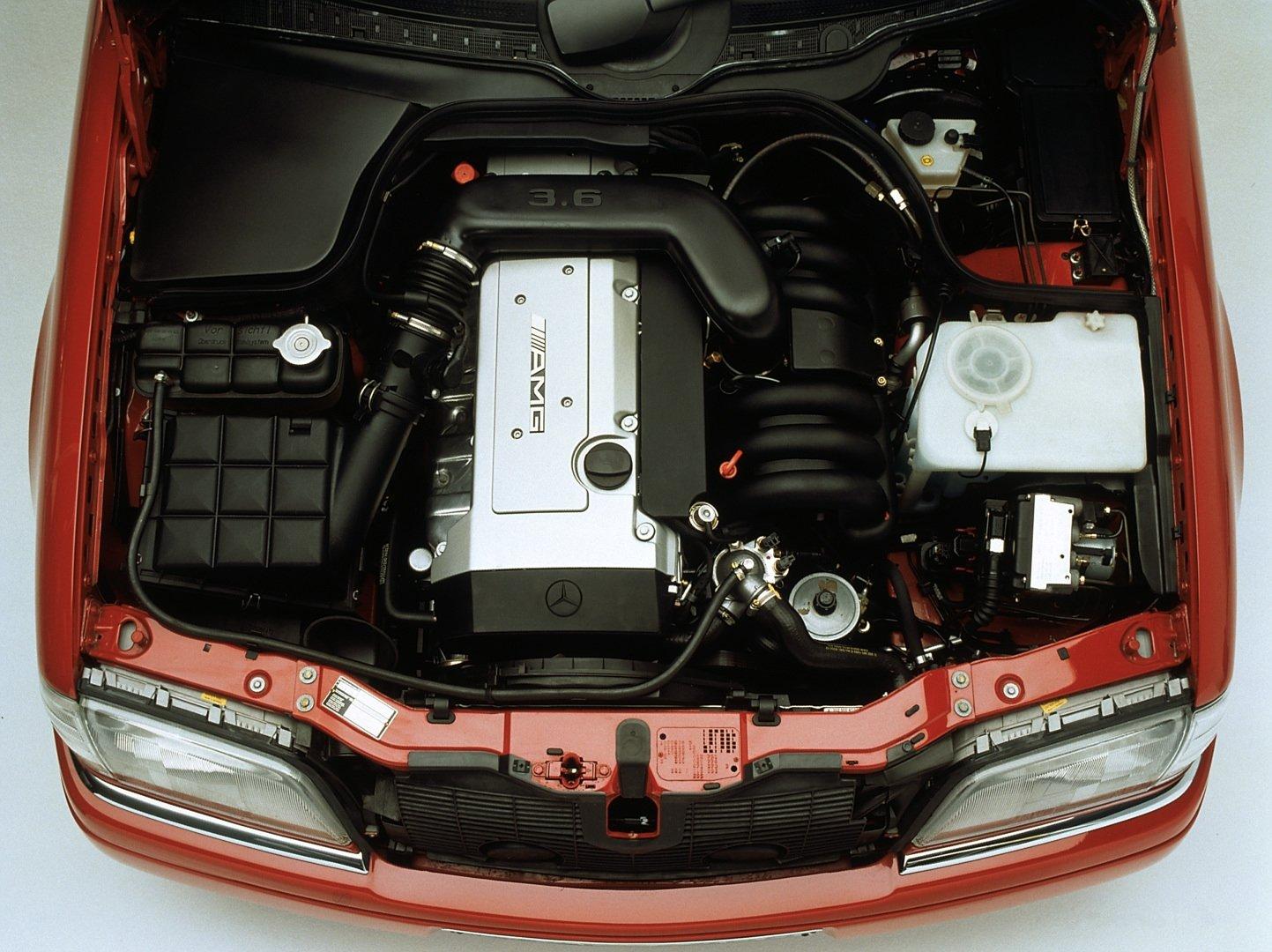 Mercedes C 36 AMG Motor