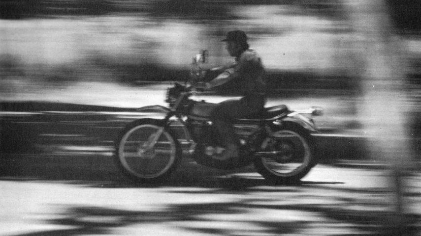 El placer de conducir una moto