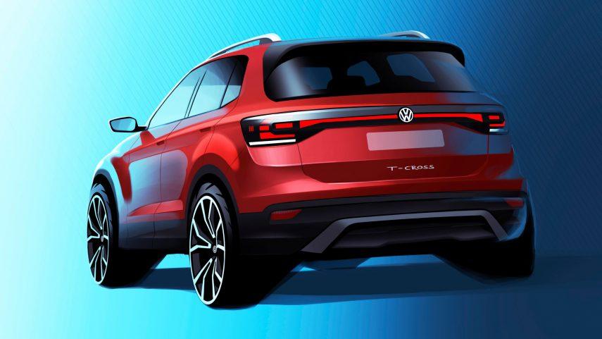 Volkswagen anticipa el SUV T-Cross