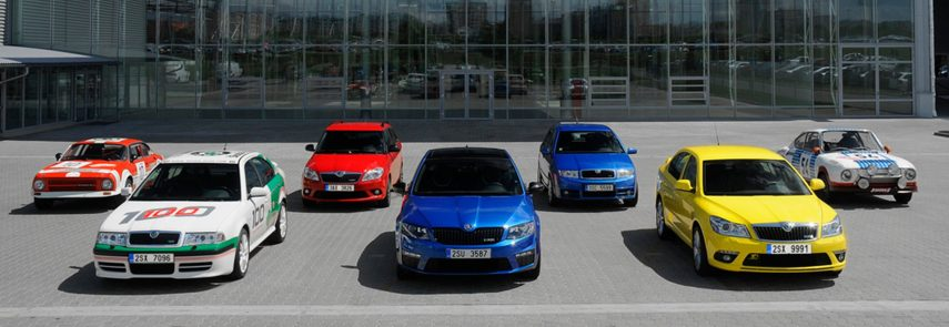 Los checos deportivos (Škoda RS),  el origen (I)