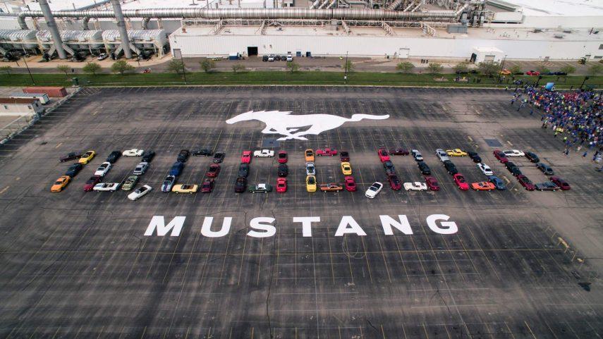 ¡Y ya van 10 millones de Ford Mustang fabricados!