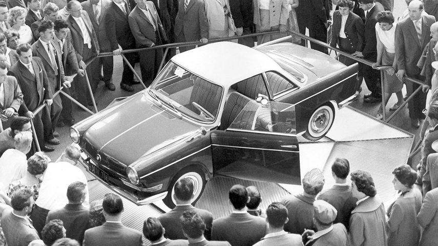 Coche del día: BMW 700 CS Coupé
