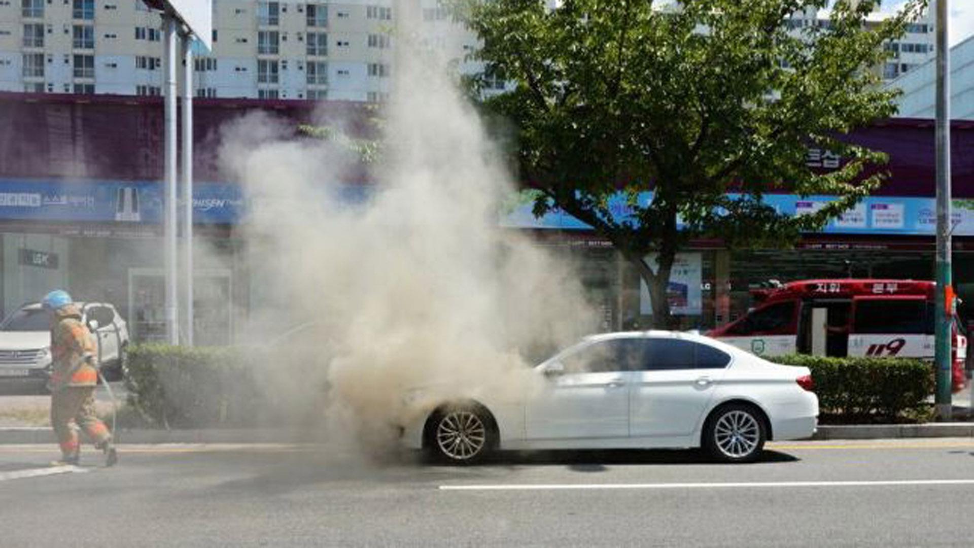 BMW On Fire 3