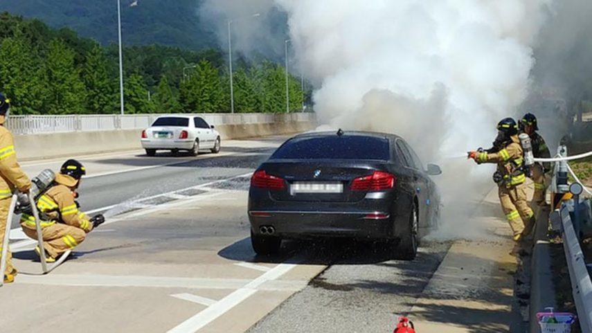 La policía registra la sede de BMW en Corea del Sur