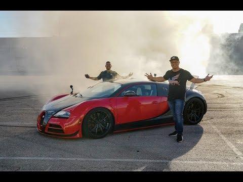 Este Bugatti Veyron de propulsión trasera es la pesadilla de Michelin