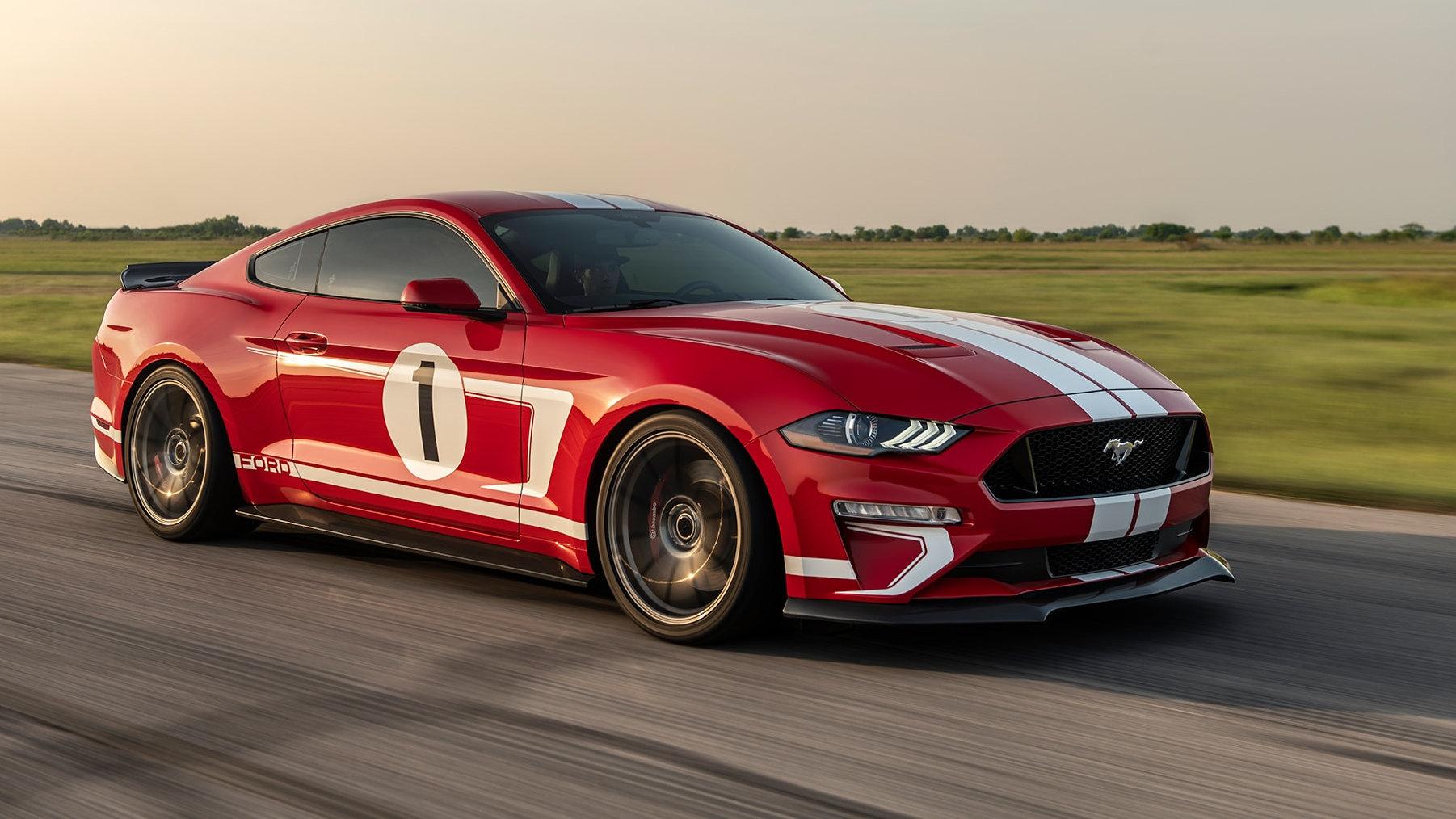Hennessey celebra los 10.000 Mustang preparados con la Heritage Edition