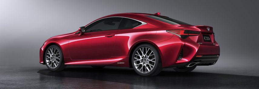 Lexus RC 300h 2019, más ágil y más refinado