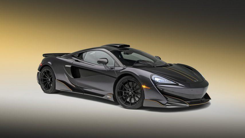 McLaren 600LT Stealth Grey, una nueva edición especial de MSO