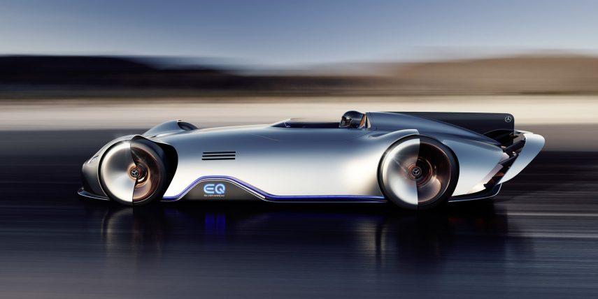 Mercedes-Benz EQ Silver Arrow, un moderno homenaje al W125 Rekordwagen