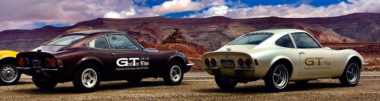 Opel GT The Great American Road Trip 3