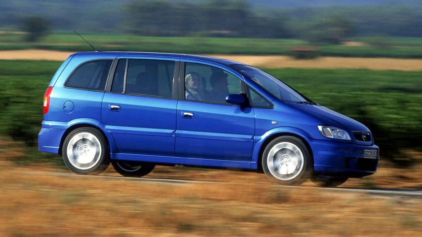 Coche del día: Opel Zafira OPC (A)