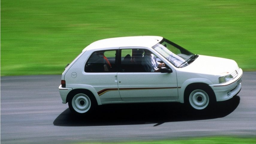 Coche del día: Peugeot 106 Rallye