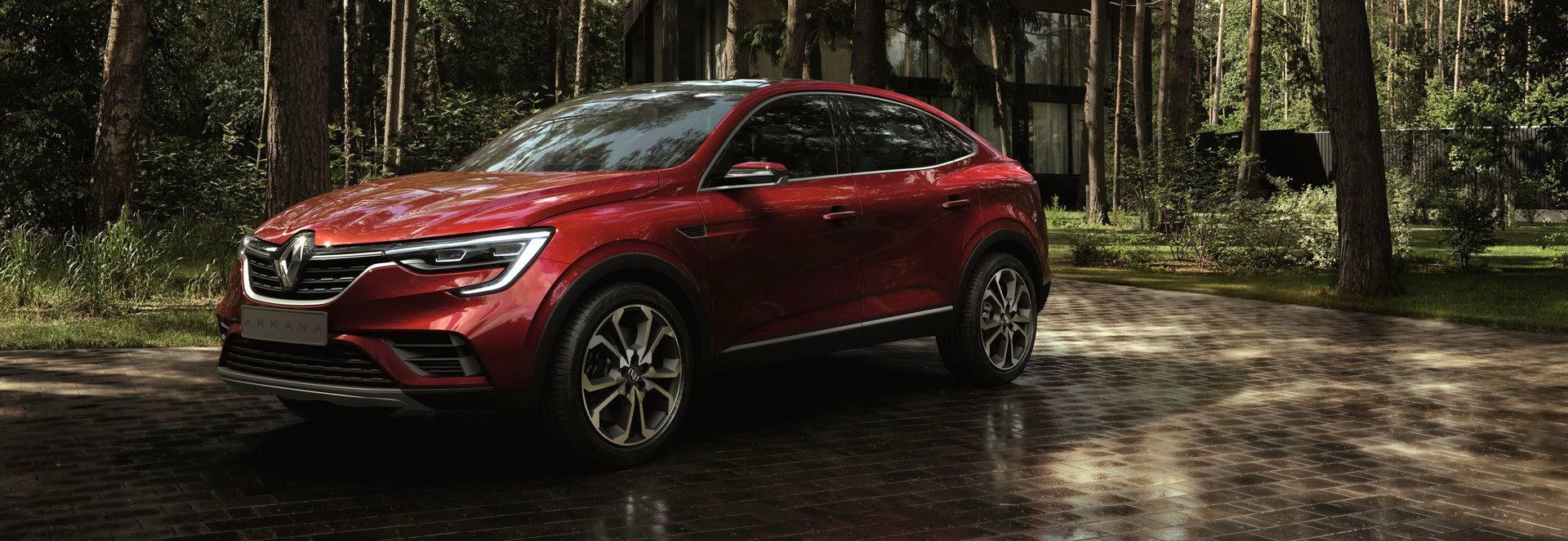 Desde Rusia, con amor: Renault Arkana Concept