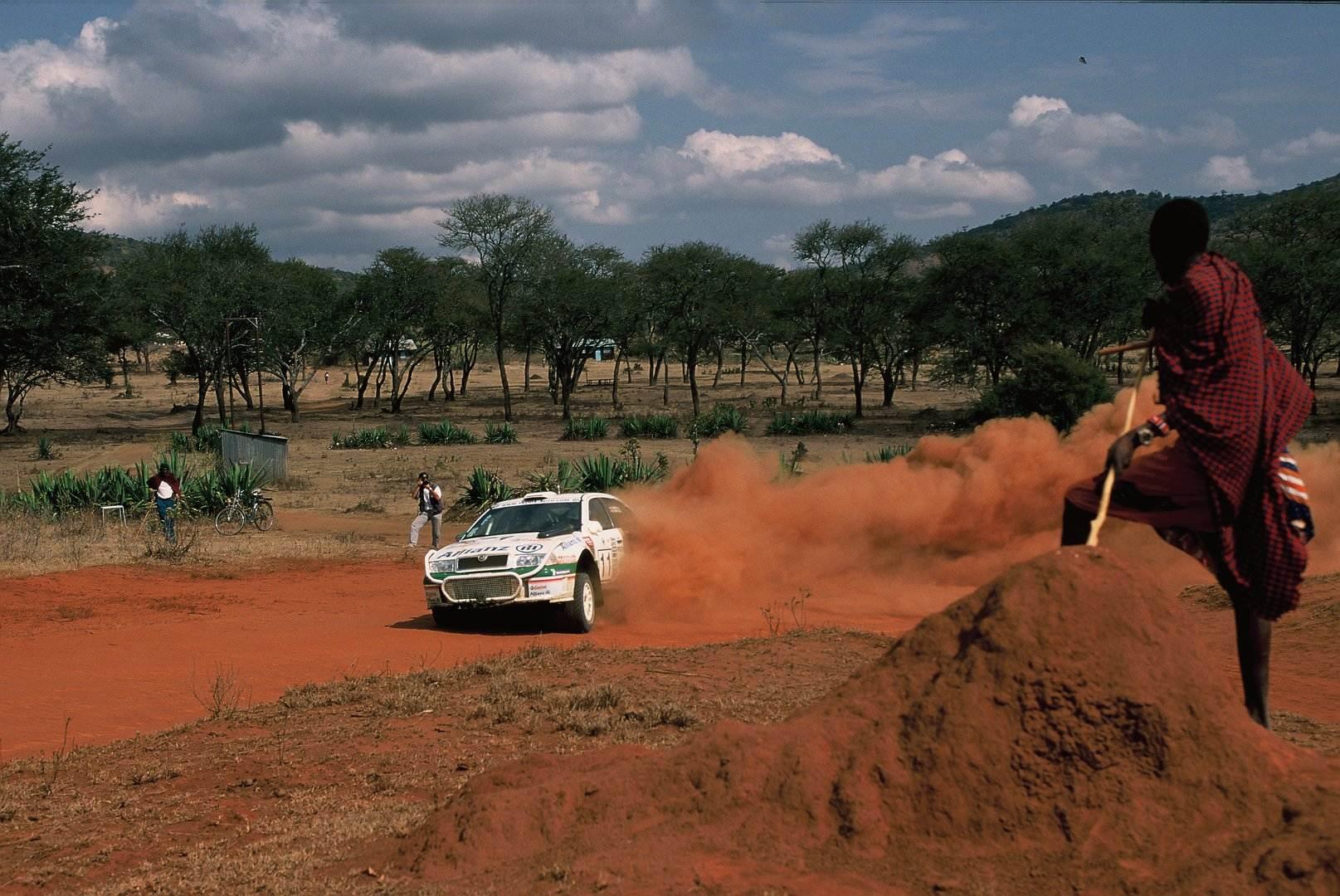 Skoda Octavia WRC Safari