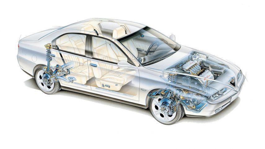 Alfa Romeo 166 30 V6 3