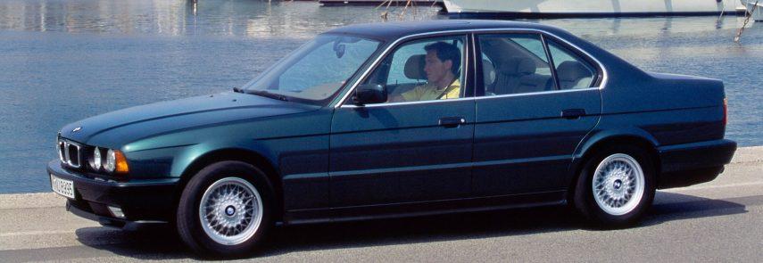 Coche del día: BMW 540i (E34)