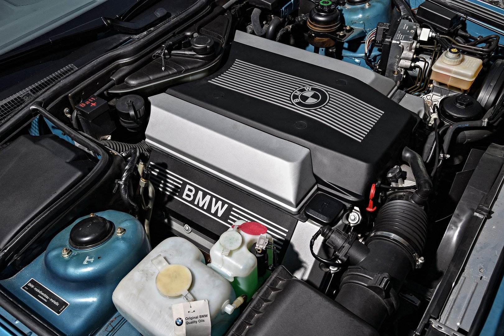 Bmw 540i E34 Motor