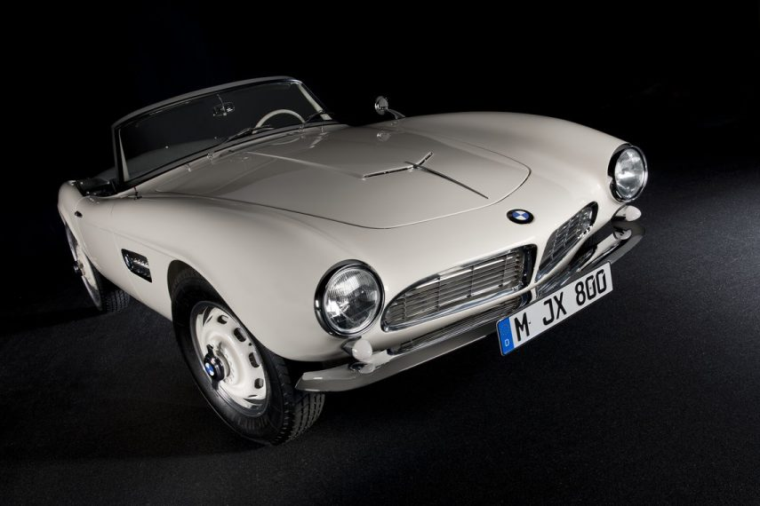 BMW 507 Roadster, la historia completa del coche de Elvis Presley