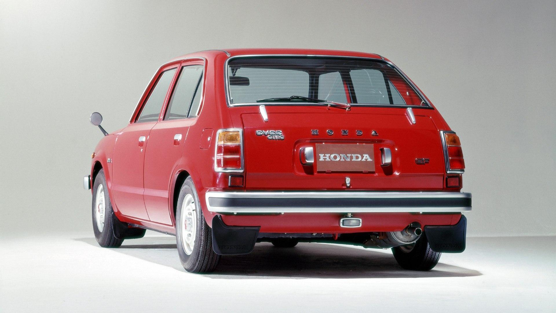 Honda Civic 1972 2