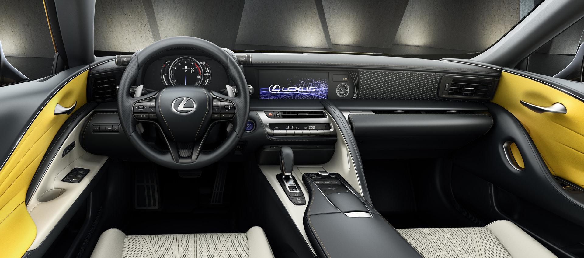 Lexus Lc Yellow Edition 2