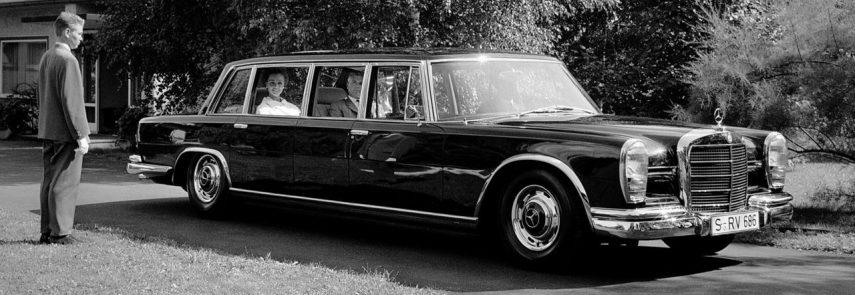 Coche del día: Mercedes-Benz 600 Pullman