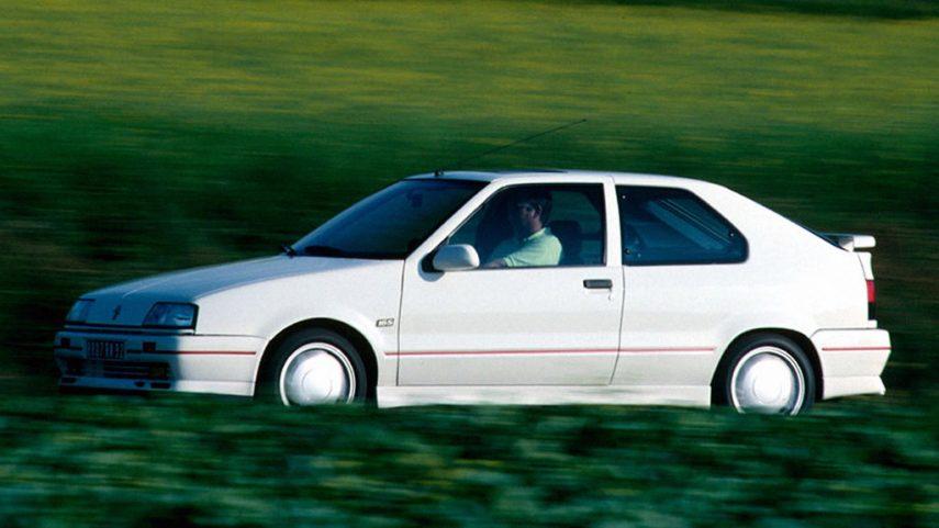 Coche del día: Renault 19 Coupé 16v
