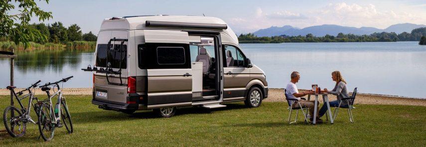 Volkswagen camperiza la Crafter: la Grand California