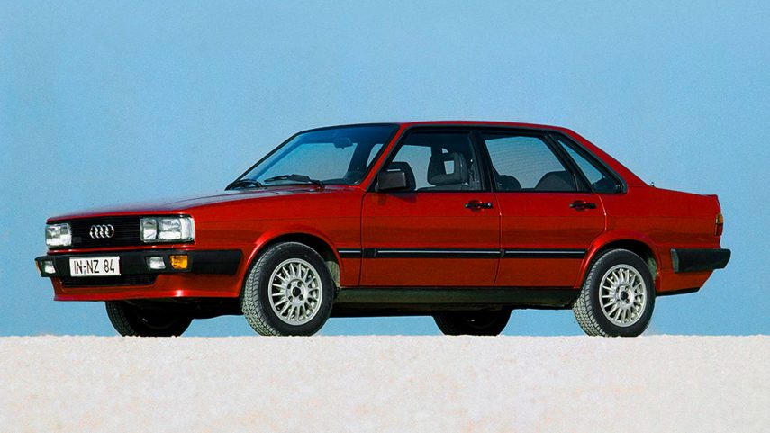 Coche del día: Audi 80 Quattro