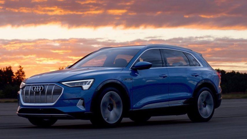 Ya puedes ver el Audi e-tron en movimiento