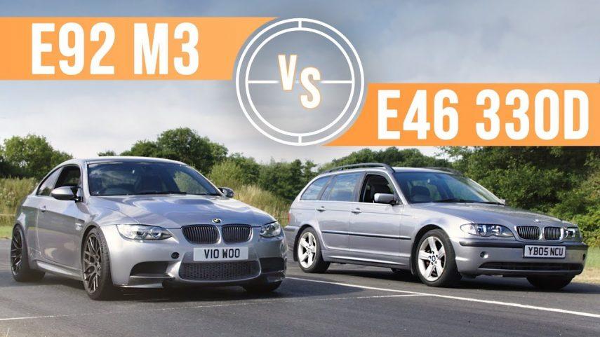 ¿Puede un BMW 330D E46 con un BMW M3 E92?