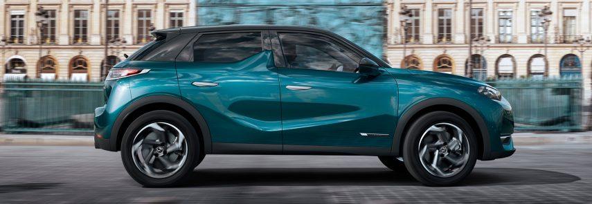 DS presenta un nuevo SUV urbano, el DS 3 Crossback