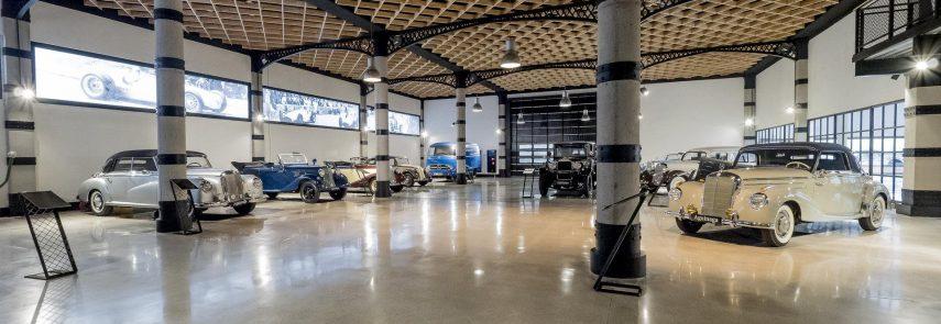 El Museo Aguinaga tiene la mayor colección de Mercedes-Benz clásicos de España