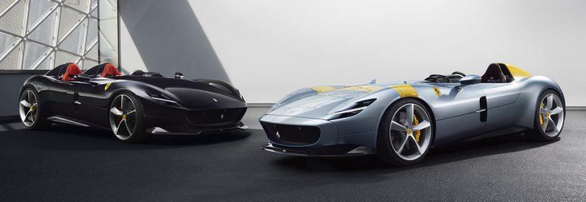 """Monza SP1 y SP2, así son estas espectaculares """"barchettas"""" de Ferrari"""