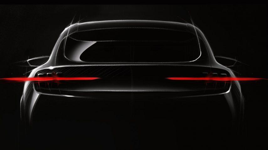 Ford muestra un esbozo de su futuro modelo eléctrico