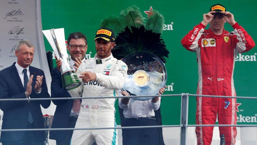 GP de Monza: Hamilton vence y estropea la fiesta de Ferrari