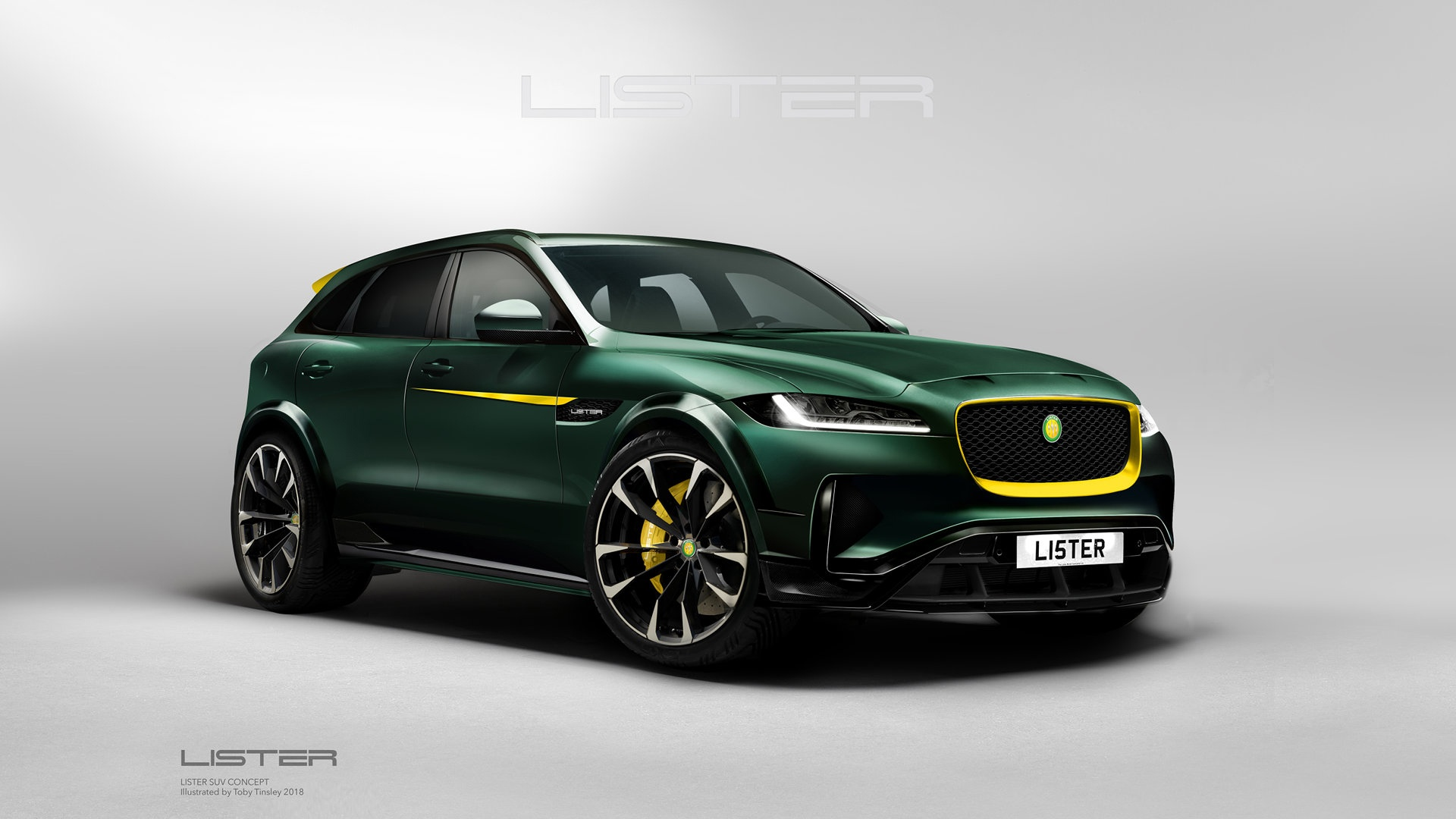Lister LFP, un Jaguar F-Pace con esteroides