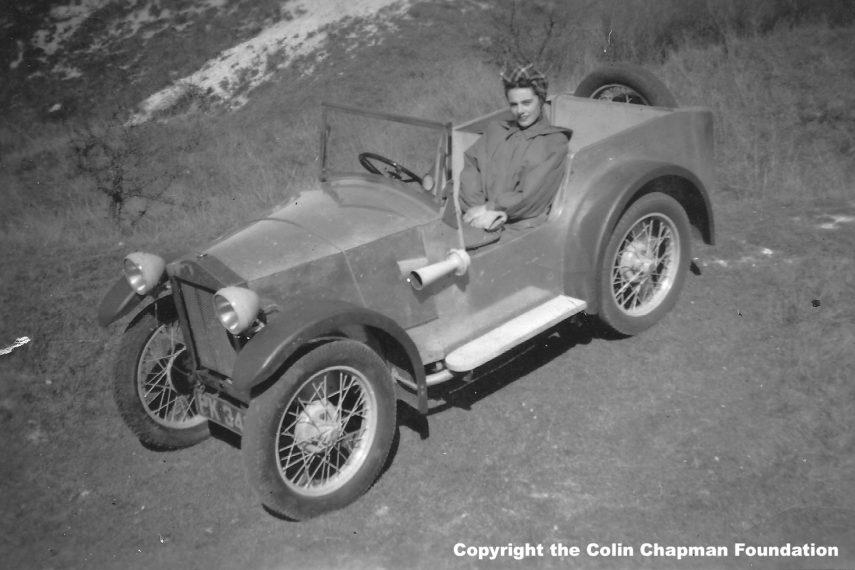 Lotus busca el génesis de sus coches, el Mark I de 1948