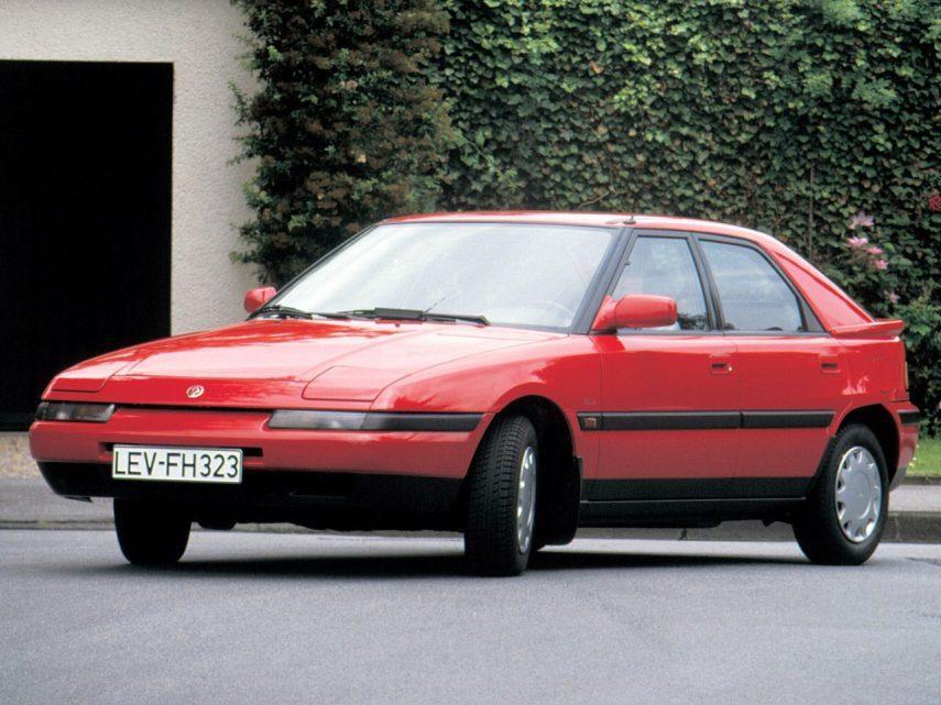 Coche del día: Mazda 323 F 1.8 16v