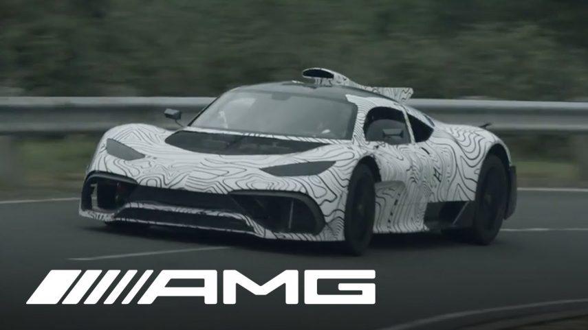 Mercedes-AMG ONE, el nombre definitivo del nuevo hiperdeportivo
