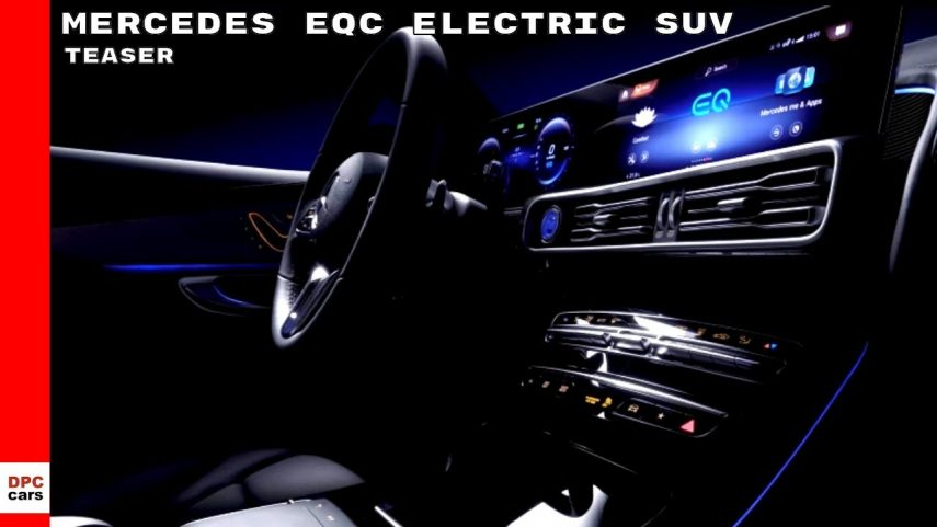 El Mercedes-Benz EQC se destapa levemente