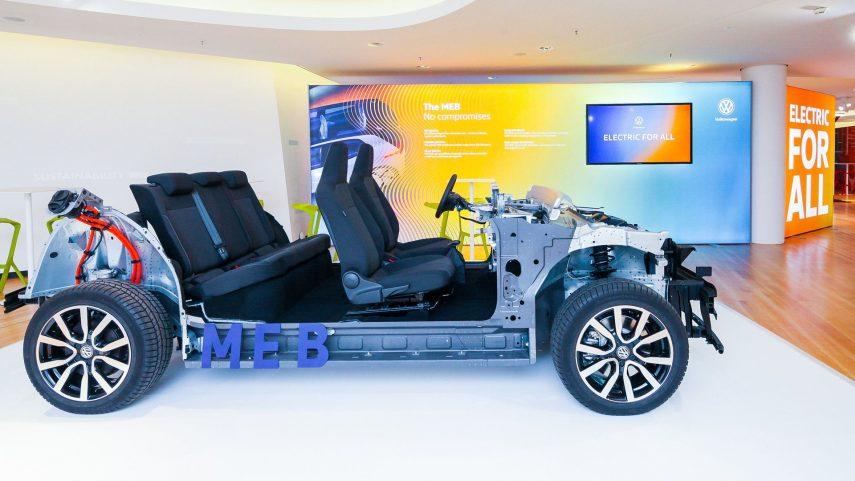 Volkswagen anuncia ambiciosos objetivos para sus coches eléctricos