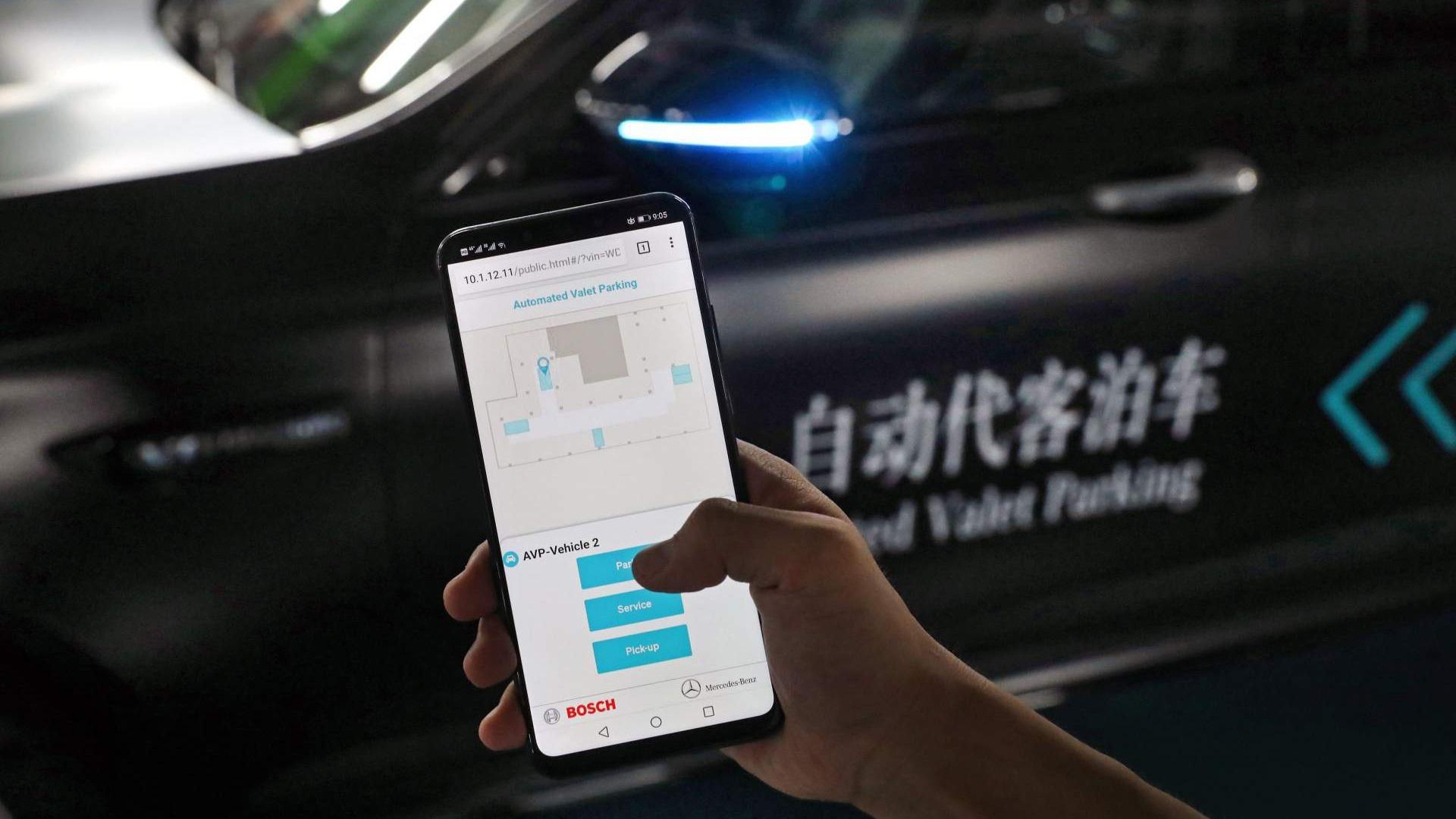 Parking Automatizado Daimler Bosch