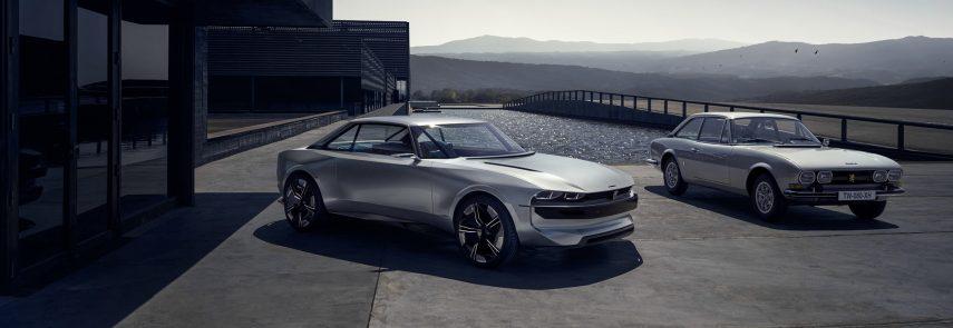 Peugeot e-Legend Concept, del pasado al futuro