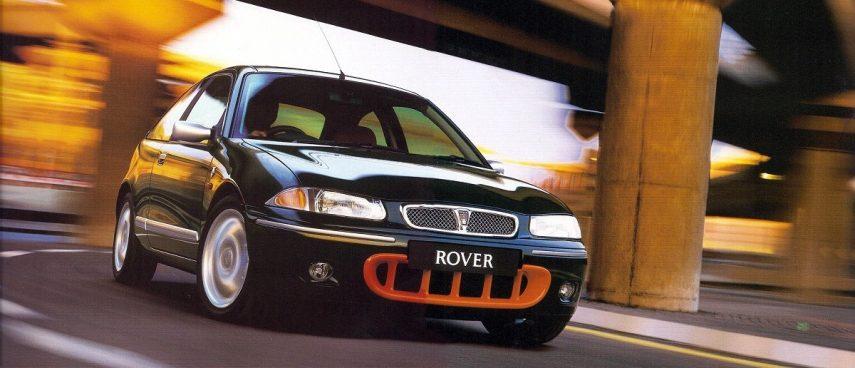 Coche del día: Rover 200 BRM