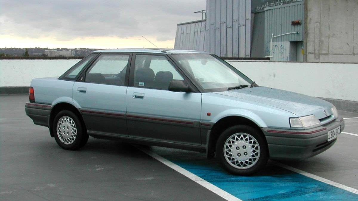 Coche del día: Rover 416 GTi