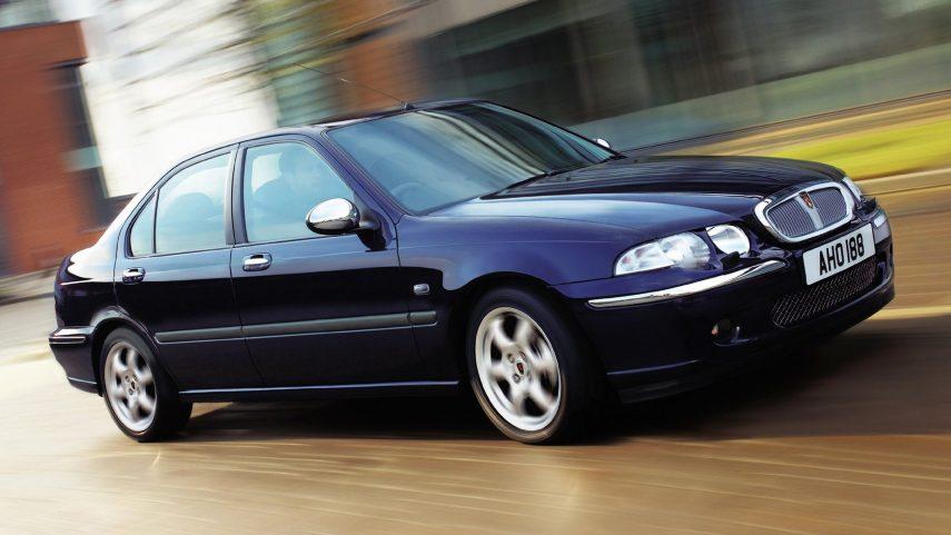 Coche del día: Rover 45 KV6